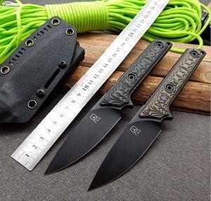 Yüksek kaliteli TAD taktik düz bıçak EDC avcılık Extrema Oranı sağkalım bıçak kamp açık Bıçak itme bıçak A2 çelik G10 kolu sabit