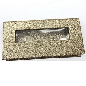 Shimmer Cílios Caixa 3D Cílios Vison Caixas Falsas Caixas De Embalagem Falsa Cílios Vazios Caixa de Ferramentas Cosméticas RRA1293