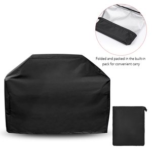 BBQ Grill Cover UV Protective Weather-resistant Outdoor Rain Cover Dust-proof Protection for Barbecues Grill