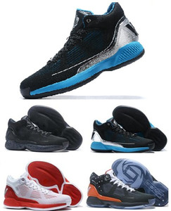 2020 Erkekler Gül 10 Derrick Beyaz Siyah Kırmızı Erkekler Basketbol Ayakkabı 10 Erkek Derick X Siyah Basketbol Ayakkabı yakuda Eğitim Sneakers Rose