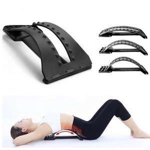 Aptidão Massagem Traseira Massagem Magia Equipamentos Estiramento Relaxar Apoio Lombar Lombar Alívio Da Dor Da Aptidão Equipamento de Fitness