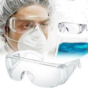 Protective óculos anti nevoeiro prova de poeira Proteção Óculos Óculos de olho de vidro ao ar livre respingo trabalho Impacto Proof Segurança de proteção Óculos D4804