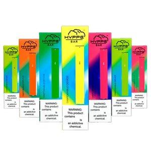 Hyppe Bar Disposable Vape Pen Device Pod Starter Kit 1.3ml Cartridges 280mAh Battery E Cigarette Empty puff bar mr vape