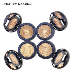 Красота Глазированных 3D отбеливатель Shimmer Выделите Single Eyeshadow Highligher Пудра палитра Основа Shine Макияж Iluminador Maquillaje