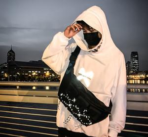 Новый крест тела Унисекс мешки плеча долговечные Оксфорд супер большой объем путешествия случайные сумки 130см adjustabe ремни ночь отражение прохладные сумки
