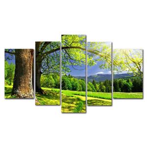 DYC 10085 5PCS Landscape Canvas Print Art