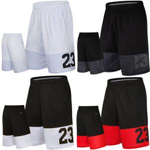 Homens musculares executando Formação rápida Shorts Men Verão Fitness Futebol Casual solta Tamanho Grande Cinco curtas Basketball calções 3XL Y200108