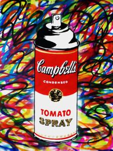 Pintura Mr. Brainwash Banksy óleo en la lona pintada Arte tomate spray pared del arte pintado a mano de la decoración del hogar impresión de HD 191021