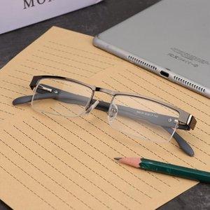 1Pcs Men Titanium Alloy Reading Glasses Presbyopia Non Spherical 12 Layer Coated Eyeglasses (+1.0 +1.5 +2.0 +2.5 +3.0 +3.5+4.0 )