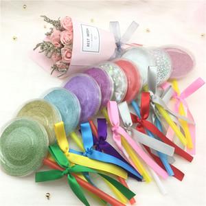 Shimmer Lollipop Lashes Пакет Box 3D норковые Ресницы Коробки Поддельные Ресницы Упаковка Case Слейте Ресницы Box Косметические инструменты