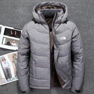 Yeni kuzey The Winter giyim Erkekler ceket Aşağı Parka Yumuşak Kabuklu Şapka kalın açık dış giyim yüz erkek ceketi kapüşonlu Sıcak aşağı Coat tutmak