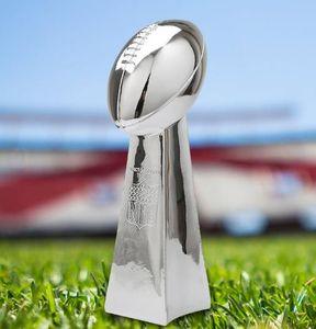 Nuovo trofeo di football americano Super Bowl 23cm / 34cm / 56cm Football americano Trofeo Champions Team Trofei e premi