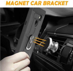 cassa del telefono mobile Ares armatura 360 staffa dell'automobile aspirazione magnetico cellulare guscio protettivo per LG K51 Stylo 6 2020