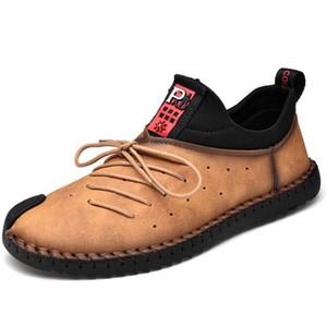 Schuhe Trend beiläufige lederne Schuhe der neuen Frühlingsherbst Männer wilde zapatos de hombre Männer Schuhe Große size38-48 Turnschuhe Herren Loafer