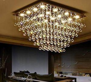 Lüks Modern Kristal Tavan Işık Yüksek Kaliteli Lambalar İçin Salon Otel Koridor Koridor Hall LED Ampuller sıcak satış MYY dahil