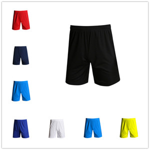 Solid Color Football Shorts Men Fitness Sports Casual Shorts Sweat-absorbent Breathable And Quick-drying Basketball Shorts DHL