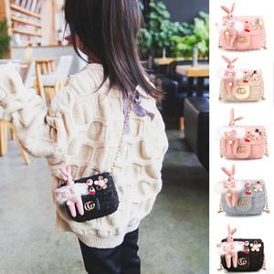 2020 Bébés Sacs à Main Nouveaux Sacs à main enfants filles Mode Mini Princesse Monnaie fille mignonne de sacs de lapin Coins Voyage Sacs Casual Cadeaux