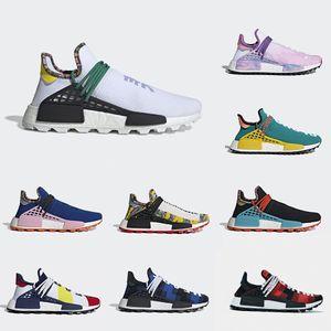 Calzature Ispirazione Zaino solare Pista da corsa per uomo Scarpe da corsa per uomo Uomo Donna Pharrell Williams HU Heart Mind Sneaker da corsa sportiva per nerd