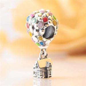 2020 Summer DIY Свободные бисера стерлингового серебра 925 Эмаль шарма приспосабливает европейский Pandora ювелирных изделий Браслеты Ожерелья Подвеска