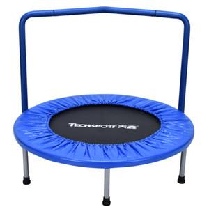 New 36 polegadas redondo segurança tampa Crianças trampolim Com Braço Kindergarten Educação Academia Primavera trampolim Cor 3