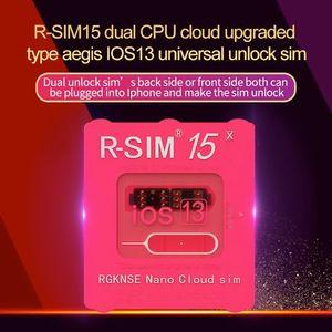 Ganz neu für iOS13 System Unlock-Karte RSIM 15 für alle iPhone AUTO-Unlocking RSIM15 4G LTE IOS13.5.1