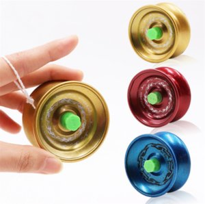 Liga yoyo bola Crianças Brinquedos De Metal bola rolamento Truque de Corda yoyo diabolo Yo-Yo Bola Engraçado brinquedos educativos Profissionais Atacado