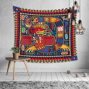 Mozaik Desenli Bohemian Duvar Goblen Serape Mandala Goblen Halı Ev Yaşam Dekor Uzay Çiçek Plaj Mat SH190925