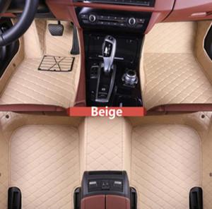 Alfombrilla interior impermeable antideslizante Volkswagen Touareg 2011-2018 alfombrilla de coche no tóxica, insípida y respetuosa con el medio ambiente