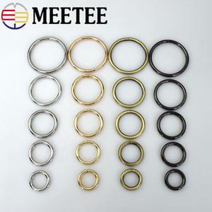 Meetee Metal D O Forme Anneau Boucle Cercle Connexion Sac Sangle bouton Ceinture Collier De Chien Bagage Pièces Accessoires