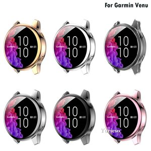 Soft Ultra-Slim TPU Protection Silicone Full Case Cover For Garmin venu Replacement Case Strap Smart Watch Accessories wholesale Cheap