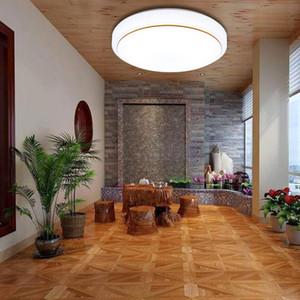 Luz de techo LED redonda moderna de moda 21 cm 6 W Lámpara de techo de ahorro de energía Sala de estar Luz de pasillo de casa Luz de balcón