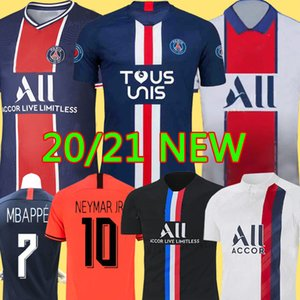 19 20 AIR PSG JORDAN camiseta de fútbol 2019 2020 camisa Paris Saint Germain NEYMAR JR MBAPPE soccer jerseys camisa cavani Survetement futebol kit CHAMPIONS camisa de futebol
