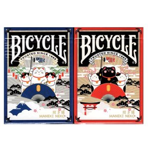 Bicycle Maneki Neko Playing Cards Lucky Cat Deck USPCC Collectible Poker Magic Card Games Magic Tricks Props for Magician