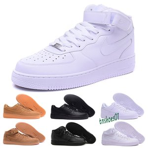 Classic 1 Utility Black White Dunk Men Women Casual Shoes one Sports Skateboarding Low Cut Air Trainers Sneakers Size 36-45 T58