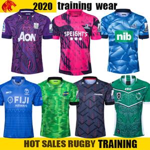 2020 Fiji Mario Hurricane Crinates Highland Capo Blues Super Rugby League Nrl Jersey 2020 Mustang Training Wear Mens Camicia Suita Dimensioni: S-5XL