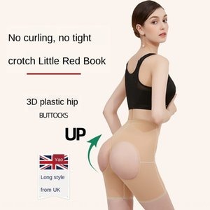 Upgraded mid-waist plastic hip sexy body belly lifting hip artifact breathable pants Underwear shaping pants shaping underwear