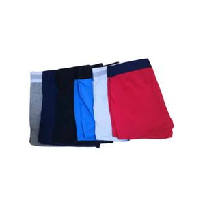 Shorts roupa interior de algodão Boxers Men Underwear curto For Man Francês Sexy Underwear Casual Man Curto Moda respirável Penis Masculino Gay