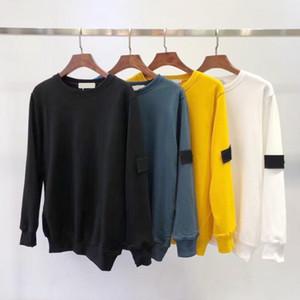 남성 후드 톱 판매자 패션 가을 겨울 남성 긴 소매 까마귀 힙합 스웨터 코트 캐주얼 의류 스웨터 S-2XL