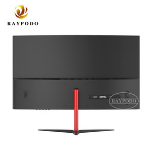 Raypodo 24 27 inch PC gaming curved 75hz 8ms computer monitor with 1800R Curvature