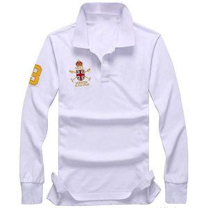 mens lauren ralph polo Lauren Ralph de polo New pequeno cavalo outono mangas compridas t-shirt polo shirt material de algodão 95% dos homens de mangas compridas t -shirt polos