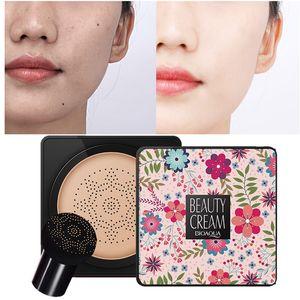BB Air Cushion Foundation koreanische Pilzkopf CC Creme Concealer Whitening-Verfassungs-Kosmetik Wasserdichte Erhellen Gesicht Basis Ton