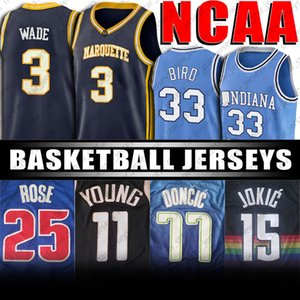 Duke NCAA bleu Devils 1 Jersey Zion Williamson Luka 15 Nikola Jersey Jokic 11 Trae Maillots Jeune 1 Devin Jersey Booker Doncic