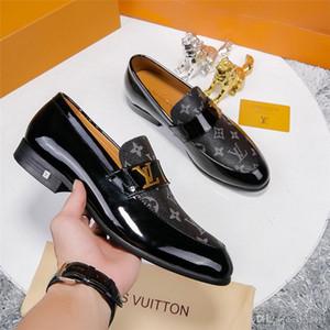 20MM italienischen Luxusmarken Hochzeit formale Schuhe Männer Bürokleidschuhe Männer Oxford-Schuhe für Männer sapato soziale masculino zapatos hombre MAD