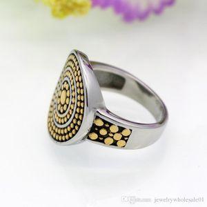 2019 USpecial Free Shipping Copie calde di cappelli per anelli da donna in acciaio al titanio antico e accessori per anelli da donna vintage color anello