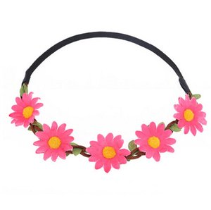 Sunflower Crown Hats & Caps Hair Wreath Bridal Headpiece Festivals Band arrival