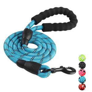 Tierbedarf Hundeleine für kleine große Hunde Leinen Reflektierende Hundeleine Seil Haustiere Bleihundehalsband Harness Nylon Laufleinen VT0836