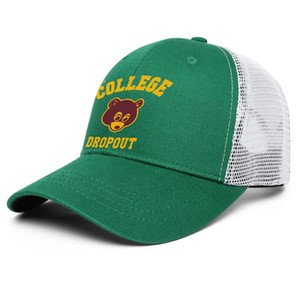 Kanye west the college dropout 3 for men and women adjustable trucker meshcap cool cool custom best baseballhats Kanye West Graduation