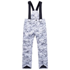kids chidlren teens ski snowboard pants trousers winter warm waterproof windproof outdoor sports thick pants overalls boy girl