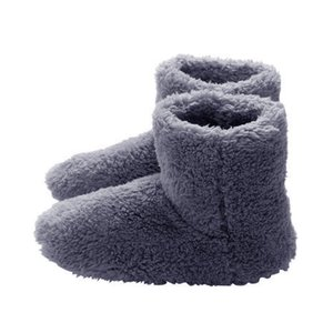 Winter USB heater foot shoes plush warm electric slippers feet heated washable Couple Warm Shoes 20DC05