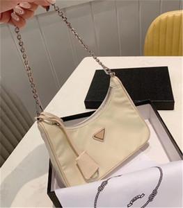 Luxus-Schulter-Beutel-Qualitäts-Handtasche Art und Weise gutes Spiel der Frauen Taschen Nylon Einzel-Schulter-Span 5 CFY2001073